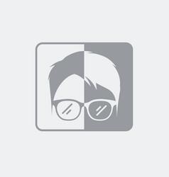 Brightness settings for portrait vector