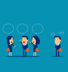 business people meeting and talk concept business vector image
