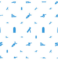 Conflict icons pattern seamless white background vector