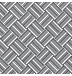 Design seamless monochrome metallic pattern vector