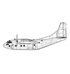 Fairchild c-123 provider vector