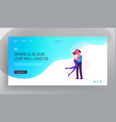 Love human relations togetherness website vector
