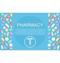 Modern Flat design Medicine pharmacy healthcare vector image