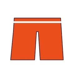 swimwear shorts icon vector image