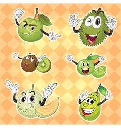 various fruits vector image