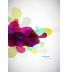 abstract liquid vector image vector image