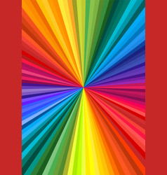 Abstract rainbow swirl vector