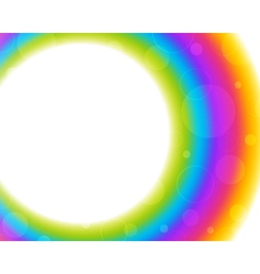 Abstract smooth circle background vector