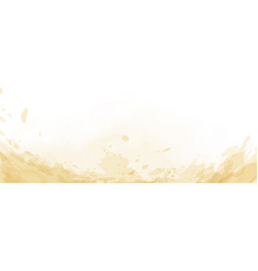 Abstract surface light yellow watercolor texture vector