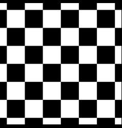 Chessboard or checker board seamless pattern in vector