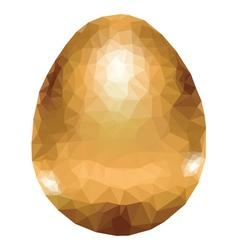 Colorful Polygonal Egg3 vector image