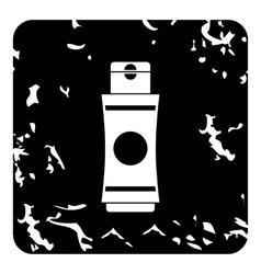 Deodorant icon grunge style vector image