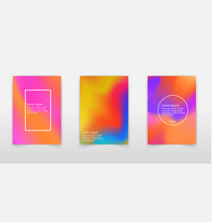 holographic foil very beautiful rainbow vector image