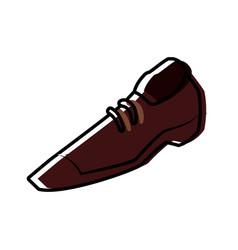 male shoe footwear vector image