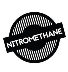Nitromethane stamp in french vector
