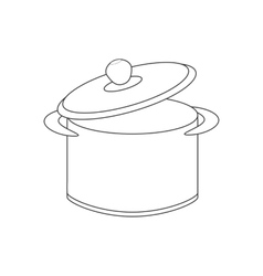Saucepan path vector