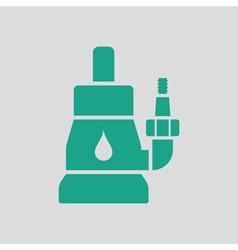 Submersible water pump icon vector