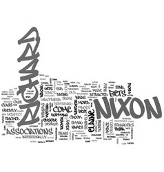 What do you know about richard m nixon text word vector
