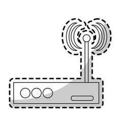 Wifi modem icon image vector