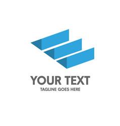 creative letter e logo vector image vector image