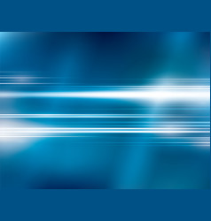 bright lights on blue abstract background vector image vector image