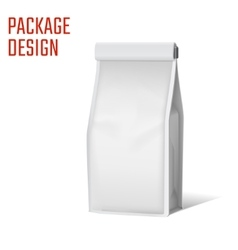 Package snack bag A vector image