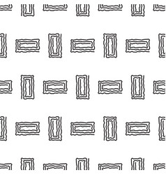abstract geometric rectangle line shapes seamless vector image