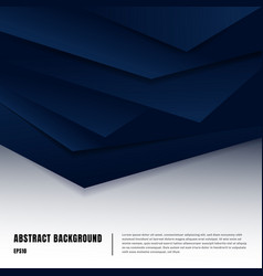 abstract paper art style layout template dark vector image