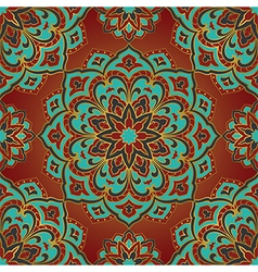 Bright pattern of mandala vector