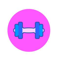 female fitness icon vector image