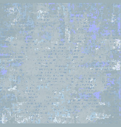 grey blue grunge background vector image