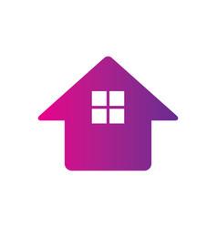 home construction building company logo vector image