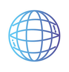 line global digital network social connection vector image