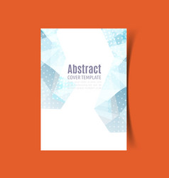 Report cover design 5 vector