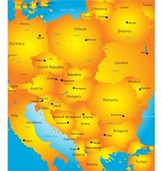 Eeast europe vector image
