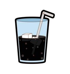 isolated soda design vector image