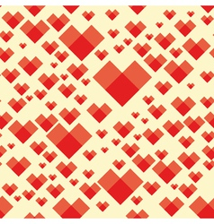 heart background seamless vector image
