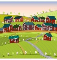02 roads city landscape vector