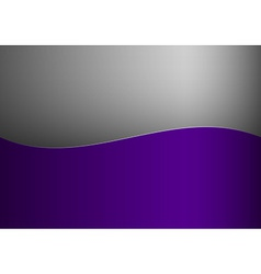 background purple stripe wave one grey vector image