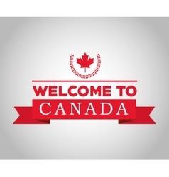 Canadas County design Maple leaf icon vector image