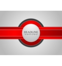 Hi-tech abstract corporate background vector
