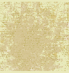 light brown spotted grunge background vector image