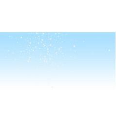 random falling stars christmas background subtle vector image