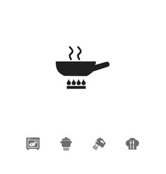 set of 5 editable restaurant icons includes vector image