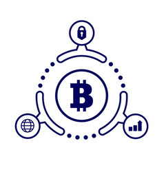 The advantages of cryptocurrency in vector