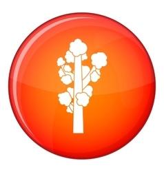 Tree icon flat style vector image