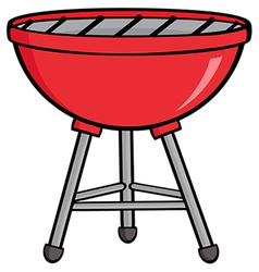Red Barbecue vector image
