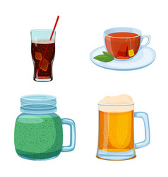 drink and bar symbol vector image