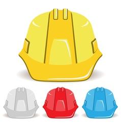 Safety helmet set vector