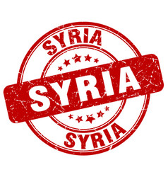 Syria stamp vector